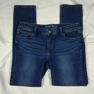 WHBM skinny leg jeans size 12